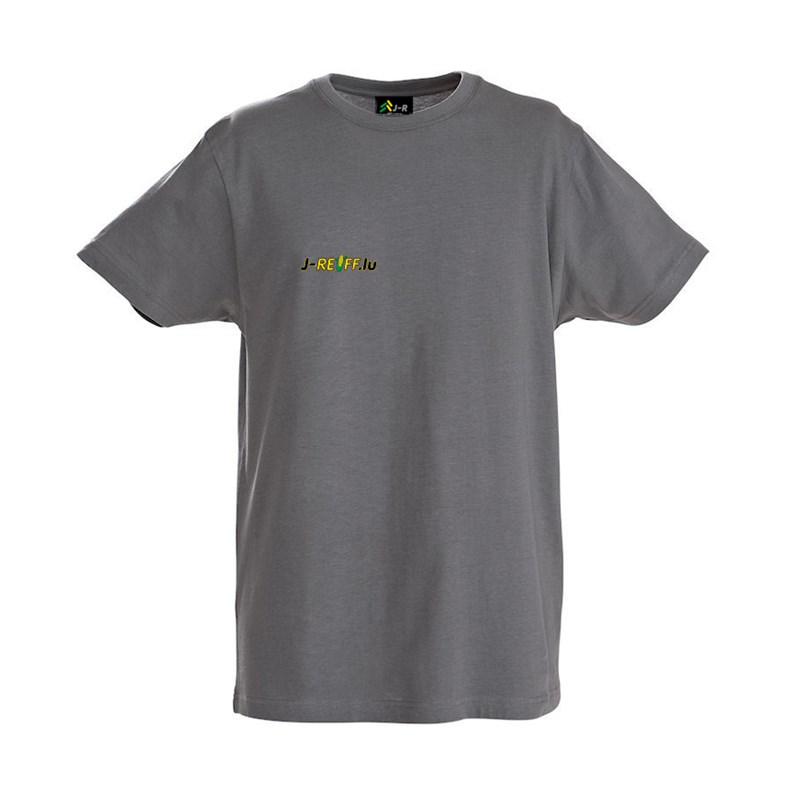 T-Shirt with logo in gray