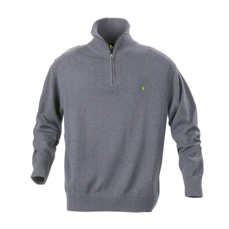 Sweater Zip grey