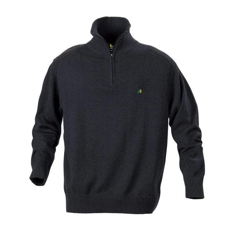 Sweater Zip dark grey