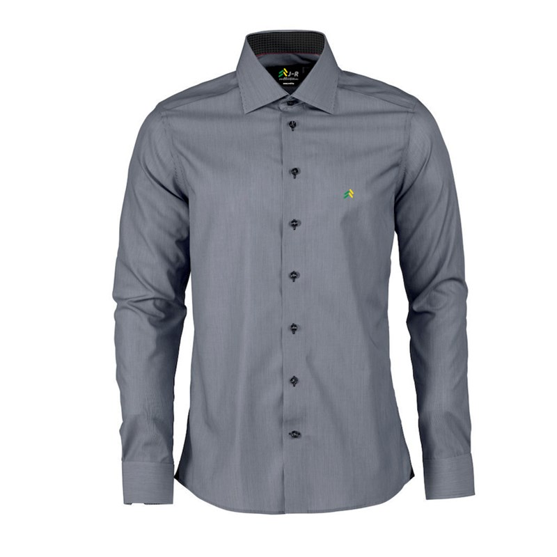 Classic shirt slim in grey