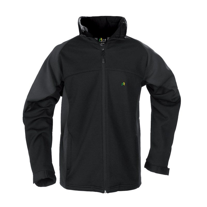 Softshell jacket in black