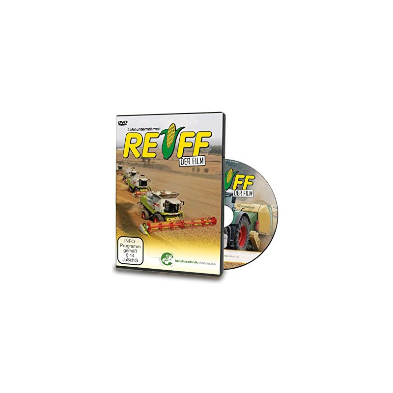 "J-Reiff ""Der Film"" as DVD"