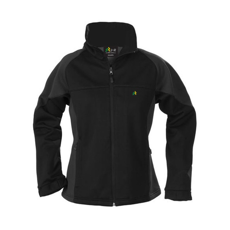 Softshell jacket in black Lady