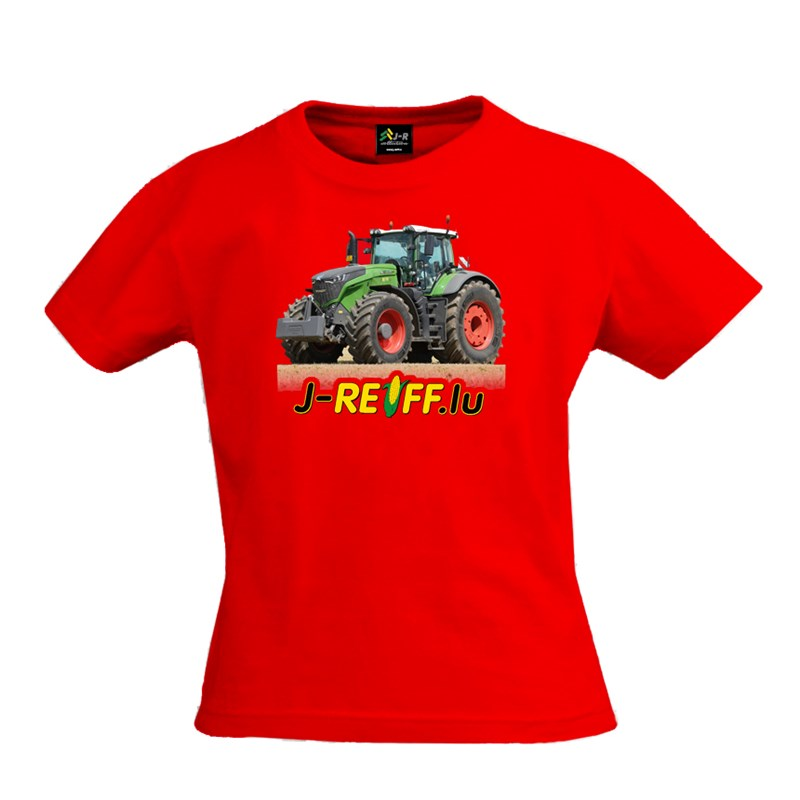 "Kinder T-Shirt ""Fendt 1046"" in Rot 090"