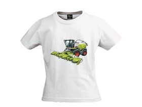 Kinder T-Shirt in weiß
