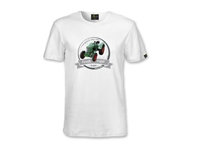 Oldtimer T-Shirt Fendt F40P in weiß