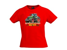 "Kinder T-Shirt ""Fendt 1046"" in rot"